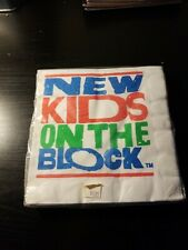 NEW KIDS ON THE BLOCK VINTAGE 1989 6.5x6.75 napkins (16) ~ Birthday Supplies