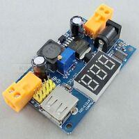 LM2596 USB DC-DC Wandler/Konverter Step-down Power Supply Modul & LED Voltmete