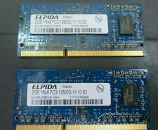 Laptop memory,  4GB (2 x 2GB),  PC3-12800,  DDR3, SODIMM 1600MHz, 204-pin