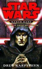 Complete Set Series Lot of 3 Star Wars Darth Bane Trilogy by Drew Karpyshyn