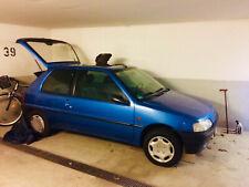 Peugeot 106 XR, blau, abgemeldet, sehr gut erhalten bald Oldtimer