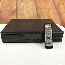 Denon Cdr-W1500 Dual-Drive Cd Player / Recorder With Remote