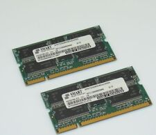 2x Cisco Smart 15-7332-01 256MB PC2100 cl2.5 9c 32x8 REGISTERED ECC DDR SODIMM
