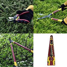 Long Handled Lopper Shears & Secateur Garden Hedge Lawn Thorn Trimming Cutting N