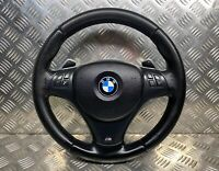 BMW 3 SERIES LCI E90 E91 E92 E93 M SPORT MULTIFUNCTION STEERING WHEEL PADDLE SHI