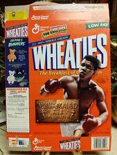 1999 wheaties muhammad ali cereal box (opened)
