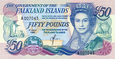 Falkland Islands P-16 50 pounds 1990 UNC