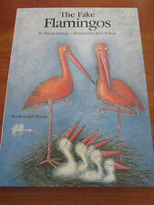 (E626) KINDERBUCH THE FAKE FLAMINGOS MISCHA DAMJAN/JOZEF WILKON ENGLISCH EA 1987