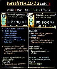 Diablo 3 RoS Xbox One - Modded - Dämonenjäger Bogen - LvL 1 - Softcore
