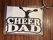 Cheerleading Keychain with Cheer DaD 2