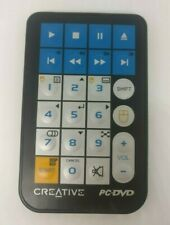 Creative Labs PC DVD Remote Control Tested & Working w/ New Battery