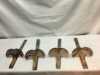 4 Vintage Steel SNOW BIRDS for Slate or Shingle Roof ARCHITECTURAL SALVAGE Hooks