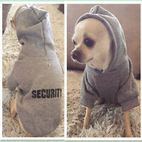 Pet Dog Hoodie Sweatshirt Hooded Coat Clothes Puppy Cat Warm Clothing Apparel LP