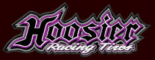 """HOOSIER RACING TIRES EMBROIDERED PATCH ~7""""x 2-1/2"""" TYRES NASCAR INDYCAR DRAGSTER"""