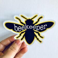 beekeeper bee sticker | bee sticker | beekeeping vinyl sticker
