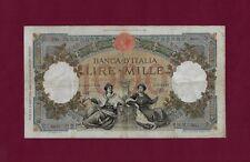 ITALY 1000 LIRE lira 1940  P-56 VF key date