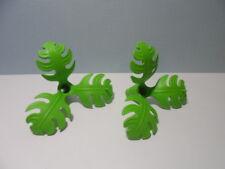 PLAYMOBIL – 2 feuillages de buisson / Bush, plant / 3039 3040 3042 4170 4174