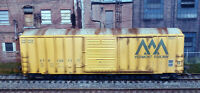 ATHEARN R-T-R #92535 VERMONT RAILWAY #12011 50' FMC 5347 cu ft WEATHERED BOXCAR