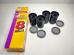 Kodak Gold 200 24 Exposure With Box 4 Rolls Expired Film Photography Camera