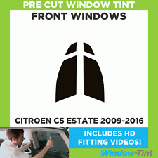 Pre Cut Window Tint - Citroen C5 Estate 2009-2016 - Front Windows