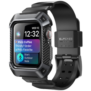 For Apple Watch 6 SE 5 4 --44/40mm Case SUPCASE Shockproof Protective Strap Band