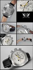 Antarius XXXL 52mm Flyer Chronograph Cavadini Watch Good Readable 10bar W .