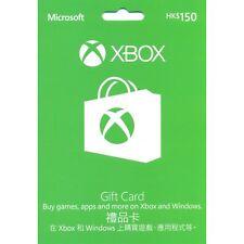 XBox Live Gift Card Hong Kong 150 HK$