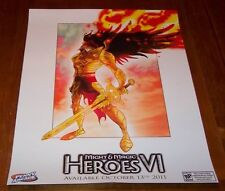 MIGHT AND MAGIC HEROES VI VIDEO GAME PROMO POSTER