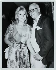 George Christy (Reporter), Meredith Mac Rae ORIGINAL PHOTO HOLLYWOOD Candid 8907