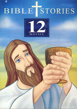Bible Stories: 12 Movies (Animated) (Blue Spin New DVD