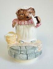 More details for vintage royal osborne mrs tiggy winkle beatrix potter musical figure