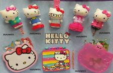 MCDONALDS 2015 HELLO KITTY - COMPLETE SET OF 8
