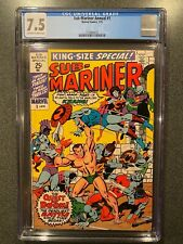 SUB-MARINER ANNUAL KING-SIZE SPECIAL No.1 CGC 7.5