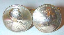 Coin cufflinks~Antique Wheat Penny cufflinks-lifetime guarantee!