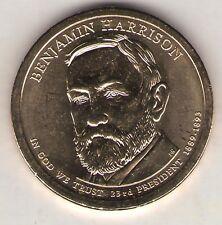 US. 2012-P or D. Benjamin Harrison. 23rd President (1889-92) UNC