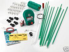Elektrozaun 70cm Weidezaun-Set  +Batteriegerät +Zubehör