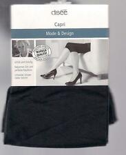 CAPRI Microfaser-Legging, blickdicht, schwarz, 42-44  *disee*