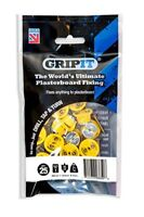 GripIt Yellow 15mm Plasterboard Fixings For Stud Walls - Max Load 71Kg 25 Pack