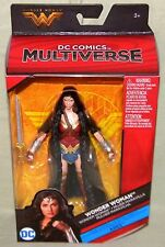 """WONDER WOMAN CLOAK DIANA DC Multiverse 6"""" Figure ARES Collect/Connect Movie"""