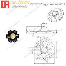 1w 3w 5w White Blue Green Uv Yellow Red Rgb High Power Led Smd Chip Cob Lamp Pcb