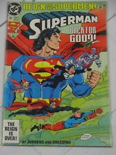 Superman #82 1993 Reign of the Supermen Standard Edition Bagged - C3209