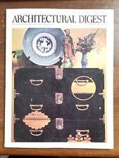 SEPTEMBER 1986 Architectural Digest Magazine - Interior Design