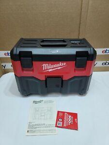"Milwaukee 0880-20 M18 2-Gallon Wet/Dry Vacuum (Tool Only) ""NEW"""