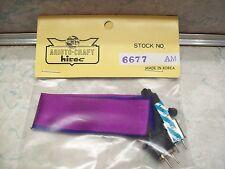 Vintage Aristo Craft RC Car Parts #6677 Crystal AM Channel 76 75.710 Purple Blue