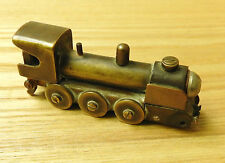 An Original WW1 Military Brass / Bronze Unusual Trench Art Train Light er (4068