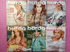 burda style Zeitschriften von 2006, 2007, 2008, 2009,2010, 2011