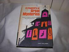 Vintage A Treasury of Great Mysteries by Howard Haycraft