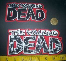 SaleINew! Cool! The Walking Dead Iron-on Fabric Appliques ~ Iron ons