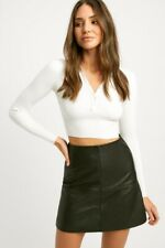 Kookai Lola Polo Long Sleeve Top BRAND NEW Size 1