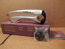 NOS Cinelli Groove Stem...Silver w/Black Clamp (120 mm)...Cosmetic Blemishes